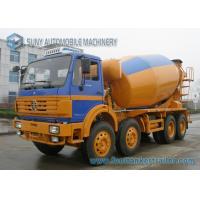 China 375 Horsepower North Benz Concrete Mixer Vechile 12 Wheeler 16 Cubic Metre on sale