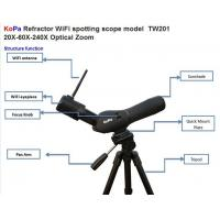 60MM Lens WiFi Spotting Scope TW201,20X-60X-240X Optical Zoom Manufactures