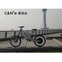 72V 8000W Off Road Electric Bike With Self Charging Lithium Battery Manufactures
