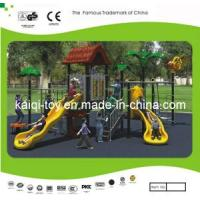 Chileren Train Tree House Series Outdoor Playground Equipment (KQ10056A) Manufactures