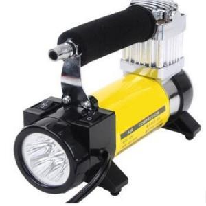 Yellow High Volume 12v Shock Air Compressor Three In One Shock Air Compressor Manufactures
