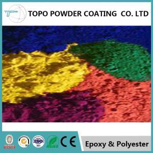 China RAL 2007 Luminous Bright Orange Powder Coat For Exercise Equipment Surface on sale