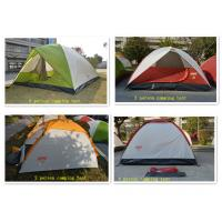 190T Polyester Dome Waterproof Camping Tent 200*120*100CM , Red Manufactures
