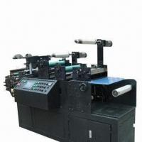 Hot-stamping machine with die cutting Manufactures