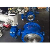 Peumatic Actuator Stainless Steel Butterfly Valve with Metal Seat Sealing Manufactures