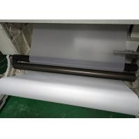 White Translucent Matte PET Film Surface Uniformity / Low Sub Degree For Printing Manufactures