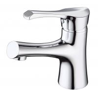 Brass Ceramic modern bathroom Sink Faucets with  Single Hole Manufactures
