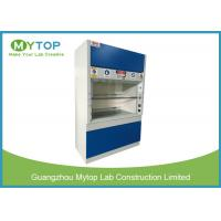 Ducted Fume Cupboard For Chemical Exhaust Extraction / School and Research Institute Manufactures
