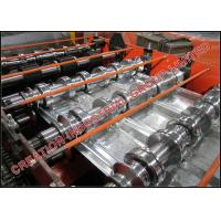 Buy cheap 1½'' x 6'' Galvanized Steel Composite Floor Deck Making Machine with Emobssing Rollers from wholesalers