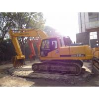 21T Korean Used Excavator Machine R210-5 With 600mm Shoe Size Crawler Type Manufactures