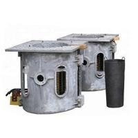 China 1650C Casting Intermediate Frequency Melting Furnace 750KW Power 1 Ton Weight on sale