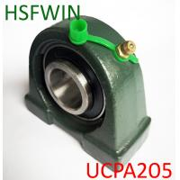 China Cast Bearing Seat Pillow Block Bearings , Easy To Install Insert Ball Bearing on sale