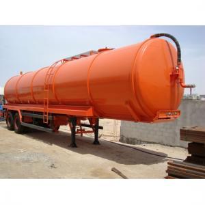 Sewage Vacuum Tanker Semi Trailer Manufactures