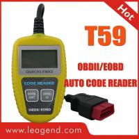 OBDII / EOBD vehicle fault code reader / Obd ii Code Readers T59 1 Year Warranty  Manufactures