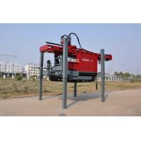 DTH Drilling Water Well Drilling Rig Mounted on Truck With Maximum hoist capacity 20 tone Manufactures