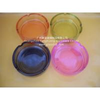 High White Clear Glass Ashtray, Round Shape Y006-1 Manufactures