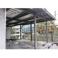 C Section Prefab Steel House For Exhibition Hall Heat Insulation And Preservation Manufactures