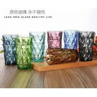Clear Lead Free Long Glass Cup / Household Dinner Drinking Glass Water Cup Manufactures