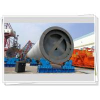 Offshore Wind Tower Foundation Monopile Used Hydraulic Fit Up Rotator