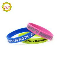 Hot selling oem design bracelets personalized silicone cheap silicone custom wristbands silicone wrist band Manufactures