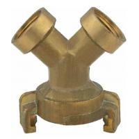 Buy cheap ISO9001 / TUV Garden Hose Connectors Y Three Way Female Thread from wholesalers