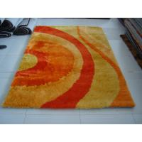 Romantic Design Very Soft Polyester Silk Carpet Home Rug Manufactures