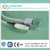 Quality drager/siemens spo2 adapter cable,white lemo 8p male,compatible Vitalert 1000 Cicero for sale
