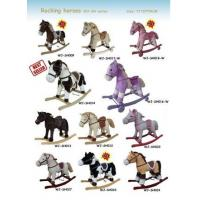 Plush Rocking Horse Collection Cute Baby Toys For Children Ride on Playing Manufactures