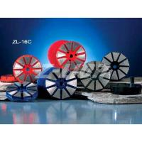 China 4 inch Diamond Floor Polishing Pad with 10 segments on sale