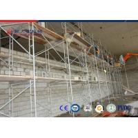 Powder Coated Iron H Scaffolding Frame , Building Construction Scaffold Manufactures