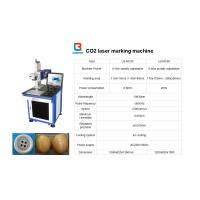 China Laser marking Machine or Co2 Laser Machine For Printing Plate / Leather on sale