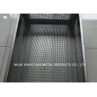 Tank Laser Cutting Holes Stainless Steel Sheet Metal Finishes For Filtering Water Manufactures