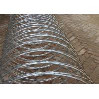 Professional BTO-22 Security Concertina Razor Barbed Wire Hot Dieed Galvanized Manufactures