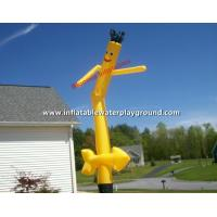 single leg outdoor advertising inflatable air dancing guy with arms for sale of bloomia. Black Bedroom Furniture Sets. Home Design Ideas