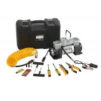DC12V Double Cyliner Metal Vehicle Air Compressor Kit with Tools in Box Manufactures