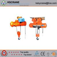 MD Model Electric Wire Rope Pulling Hoist 1ton Manufactures