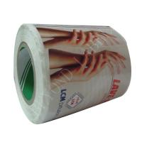 Hand Sanitizer Rectangle Clear Printable Labels Roll With Glossy Lamination Manufactures