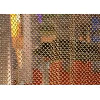 Flexible Metal Coil Curtain , Metal Chain Drapes For Window / Room Divider Manufactures