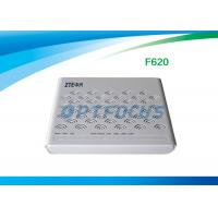 Buy cheap F620 GPON ONU English Firmware 4 LAN Ports 2 POTS SIP DHCP for multiple from wholesalers