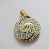 High Quality Crystal Jewelry 316L Stainless Steel Pendants for Women Manufactures