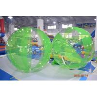 Colored Inflatable Water Volleyball Ball / Walking Ball With Logo Printed Manufactures