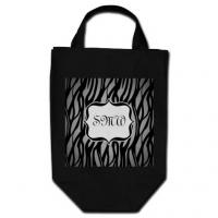 Die Cut Reusable Grocery Shopping Bags With 80gsm Non Woven Fabric ,  30 X 40 X 10cm Manufactures