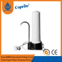 China One Stage PP / Ceramic Cartridge Household Water Filter With Stainlees Steel Faucet on sale