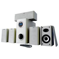 China remote control 5.1 home theatre speakers bulit-in FM radio support USB.SD on sale