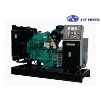 China Green Soundproof Industrial Cummins Diesel Generator Set With 6 Cylinder on sale