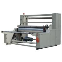 Single mode Auto Winder non woven machines Online cutting , automatic roll changing Manufactures