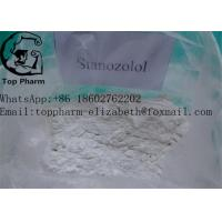 China Stanozolol Pharmaceutical Raw Materials CAS 10418-03-8 Safe Steroids For Bodybuilding on sale