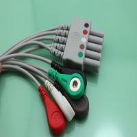 Siemens/Mindray Euro style ECG Cable leadwires Manufactures