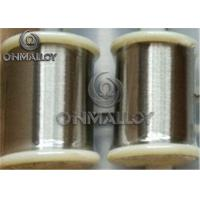 China Annealled State Copper Nickel Wire CuNi6 CuNi10 CuNi23 With Medium Resistivity on sale