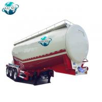 China High quality stainless steel 3 Alxe dry bulk cement tanker semi truck trailer for sale on sale